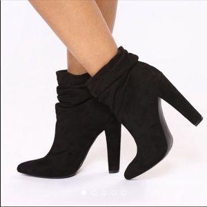 Fashion Nova Heeled Boots 8.5 NWB